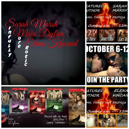 Damn That's Hot Erotic blog collage
