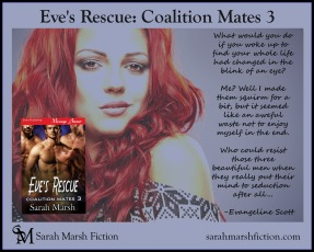 Eve's Rescue book AD EVIE