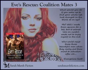 Eve's Rescue book AD EVIE