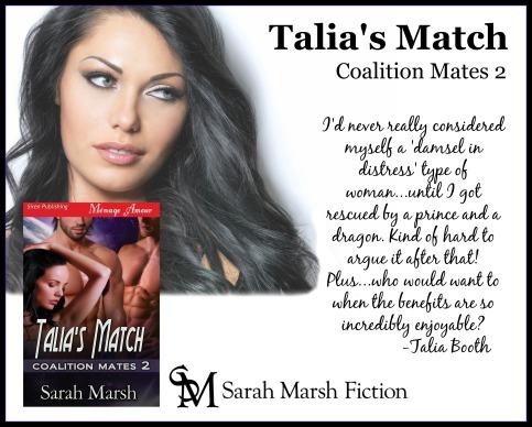 Talia's Match AD Talia