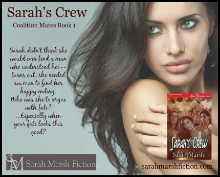 Sarah's Crew book AD Sarah